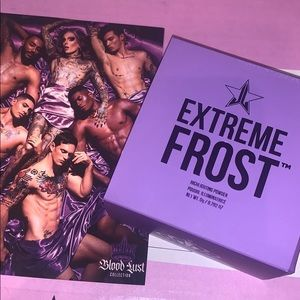 Jeffree Star extreme frost highlighter